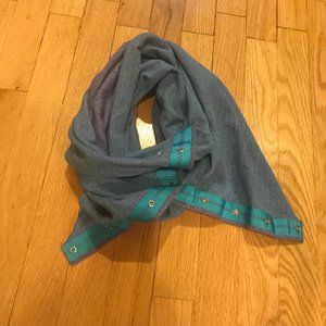 Lululemon Ivivva Scarf Blue and Purple